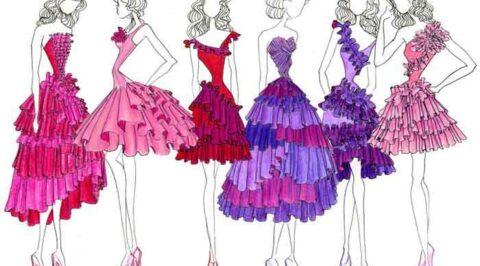 Study in fashion design enjoy school